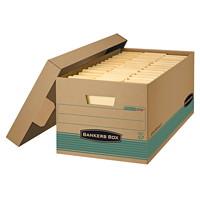 Boîte de rangement recyclée très robuste Stor/File Bankers Box, format lettre (81/2po x 11po)