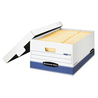Boîte de rangement Stor/File Bankers Box pour usage moyen, format légal (8 1/2 po x 14 po)