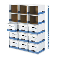 Caissons modulaires Stax Cubes Bankers Box