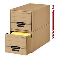 Boîte d'archivage/Classeur à tiroir Enviro Stor Bankers Box