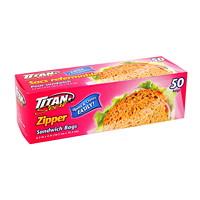 Titan Seal Zipper Storage Bags