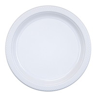 Cafe Express Plastic Disposable Plates