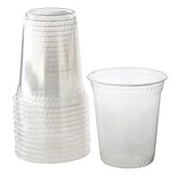 Gobelets en plastique transparent Café Express, 12oz, emb. de 100