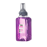 Gojo ADX Antibacterial Foam Hand Soap Refills with Triclosan Liquid, Plum Scent, 1.25 L, 3/CT