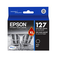 Epson 127XL Black Extra-High Capacity Inkjet Cartridge (T127120)