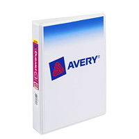 Avery Durable View Mini Binder, Round-Ring, 1