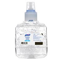 Purell LTX Advanced Gel Hand Sanitizer Refills, 1,200 mL, 70% Alcohol Content, 2/CT