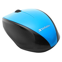 Verbatim Wireless Multi-Trac Blue LED Optical Mouse, Blue (97993)