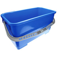 Pulex Blue Plastic Window Bucket