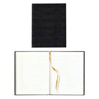 Blueline Executive Journal, Black, 10 3/4
