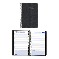 Blueline Perpetual Date Book, Black, 5