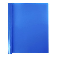Winnable Report Covers, Blue Back/Clear Front, Letter Size