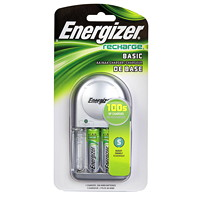 Energizer NiMH Batteries and Overnight Charger