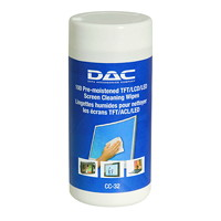 DAC TFT/LCD Monitor Screen Cleaning Wipes