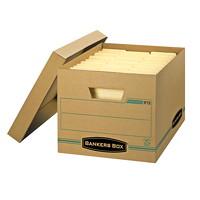 Boîte de rangement Enviro/Stor Bankers Box pour usage léger, format lettre (81/2po x 11po) et légal (81/2po x 14po)