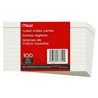 Mead Index Cards