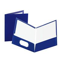 Porte-documents plastifiés à deux pochettes Showfolio Oxford
