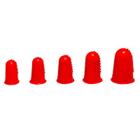Westcott Rubber Finger Tips, Small, 5/8