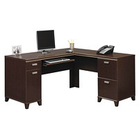 Bush Tuxedo Collection L-Desk