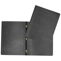 Hilroy 3-Prong Report Cover, Black, Letter Size