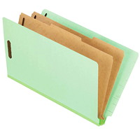 Pendaflex Pressboard End Tab Classification Shelf File Folders