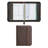Day-Timer Sienna Simulated-Leather Planner Starter Set