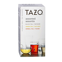 Tazo Teas, Assorted (Black, Green and Herbal), 24/BX