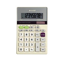Calculatrice de bureau � 8 chiffres Sharp