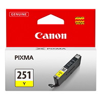 Canon 251 Yellow Inkjet Cartridge (6516B001)