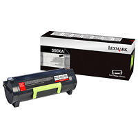 Lexmark 500XA Black Extra-High Yield Toner Cartridge (50F0XA0)