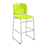 Safco Vy Sled-Base Bistro-Height Chair