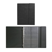 Blueline Business Card Holder 3-Ring Binder