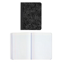 TOPS Wide Ruled Composition Book, Black Marble Cover, 9 3/4