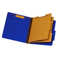 Chemise de couleur bleu format légal (8 1/2 po x 14 po) à intercalaires Pendaflex