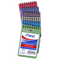 Mead Poly Memo Book