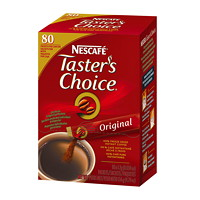 NESCAFÉ Taster's Choice Single-Serve Instant Coffee Stick Packs, Original, 80/BX