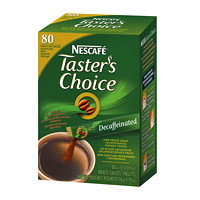 NESCAFÉ Taster's Choice Single-Serve Instant Coffee Stick Packs, Decaffinated, 80/BX