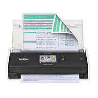 Brother ImageCenter ADS-1500W Compact Colour Wireless Network Document Scanner