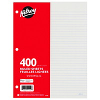 Hilroy Economy Loose-Leaf Sheets