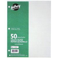 Hilroy Quad-Ruled Graph Refill Paper