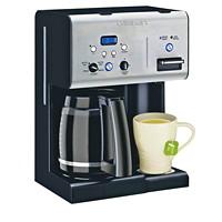 Cafetière programmable 12 tasses Coffee PLUS et distributeur d'eau chaude