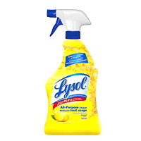 Lysol All Purpose Cleaner, Lemon Scent, 650 mL