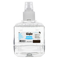 Gojo LTX Antibacterial Foam Hand Soap Refills with Triclosan Liquid, Fragrance-Free, 1,200 mL, 2/CT