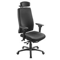ergoCentric uCentric High-Back Multi-Tilter Ergonomic Chair With Adjustable Headrest