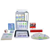 St. John Ambulance Alberta #1 Workplace First Aid Kit with Metal Cabinet, 2-9 Employees