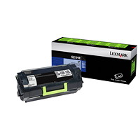 Lexmark 521HE Black High-Yield Unison Contract Toner Cartridge (52D1H0E)