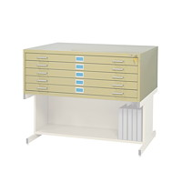 Safco 5-Drawer Flat File Cabinet