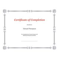 Certificats élite St. James