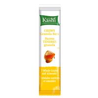 Barres tendres au miel et aux amandes et graines de lin Kashi