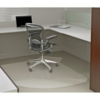 Deflecto Supermat L-Workstation Chairmat